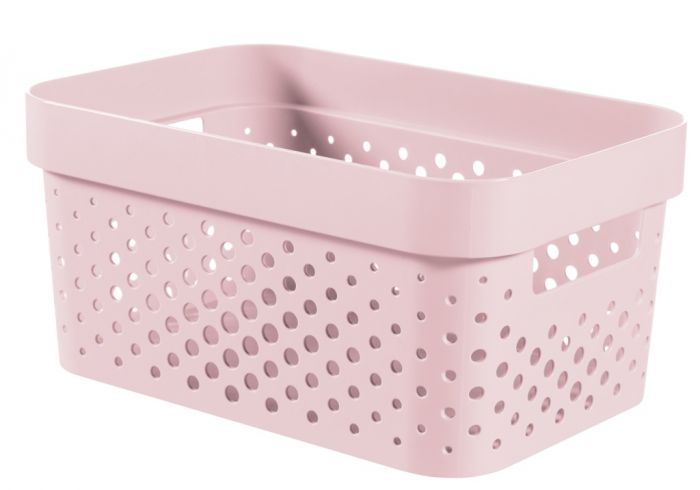 Curver Infinity Dots Box 4.5L Chalk Pink