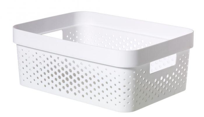 Curver Infinity Dots Box 11L White
