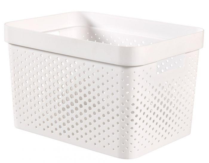 Curver Infinity Dots Box 17L White