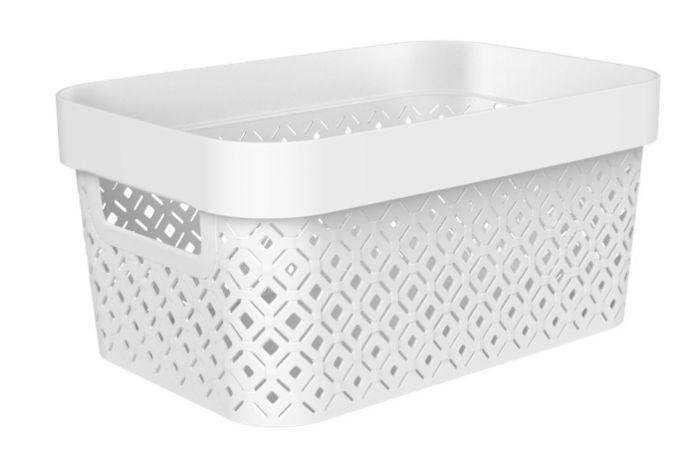 Curver Terazzo Storage Basket 4.5L White