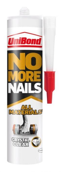 UniBond No More Nails All Materials Crystal Clear