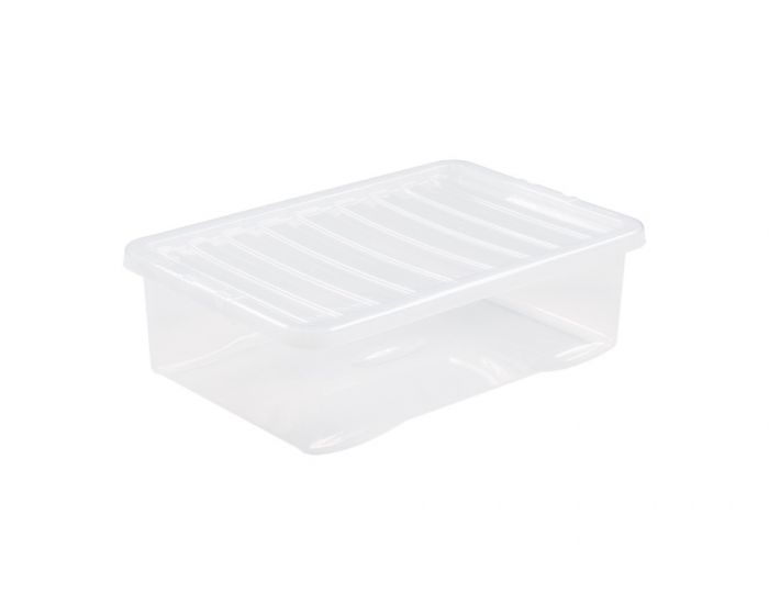 Wham Crystal Clip Lid Underbed Box