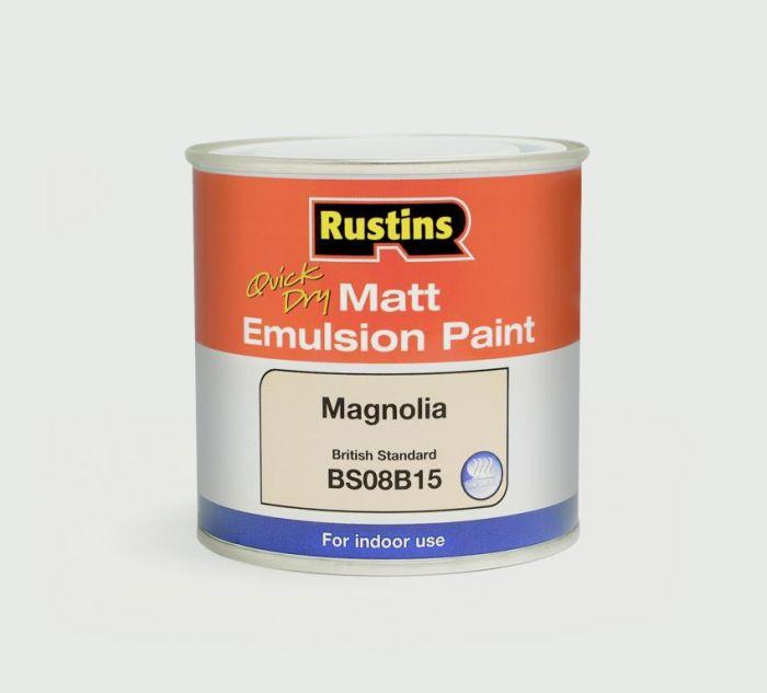 Rustins Matt Emulsion 500ml Magnolia