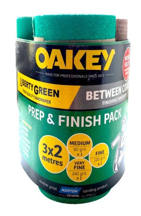 Oakey Prep & Finish 2m Triple Pack