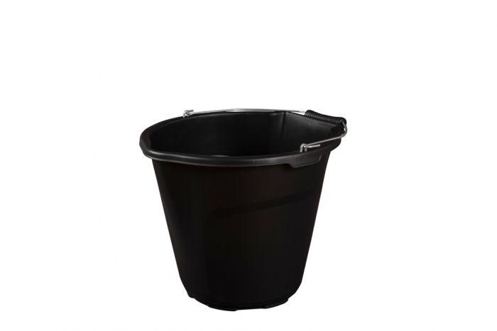 Strata Heavy Duty Pour & Scoop Bucket 14L Black