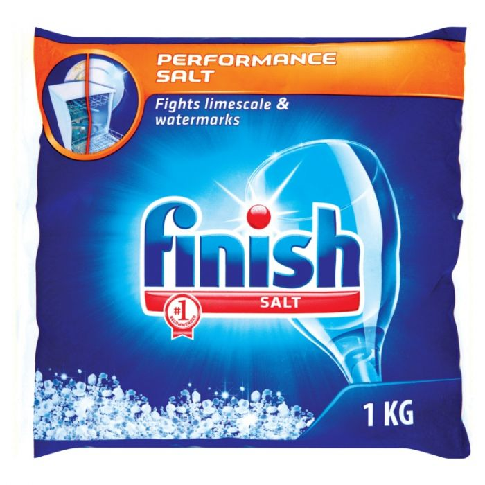 Finish Dishwasher Performance Salt Bag 1kg