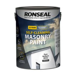 Ronseal Self Cleaning Smooth Masonry Paint 5L PBW