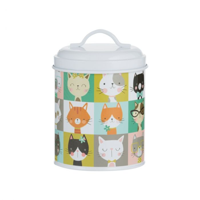Mason Cash Pawtrait Cat Food Storage Tin