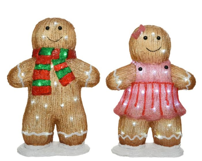 Led Gingerbread People