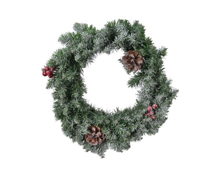 Frosted Sherwood Wreath