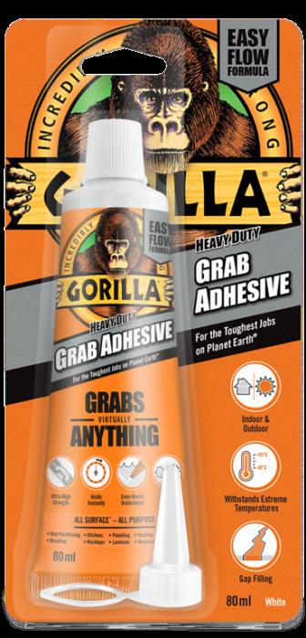Gorilla Grab Adhesive White 80ml