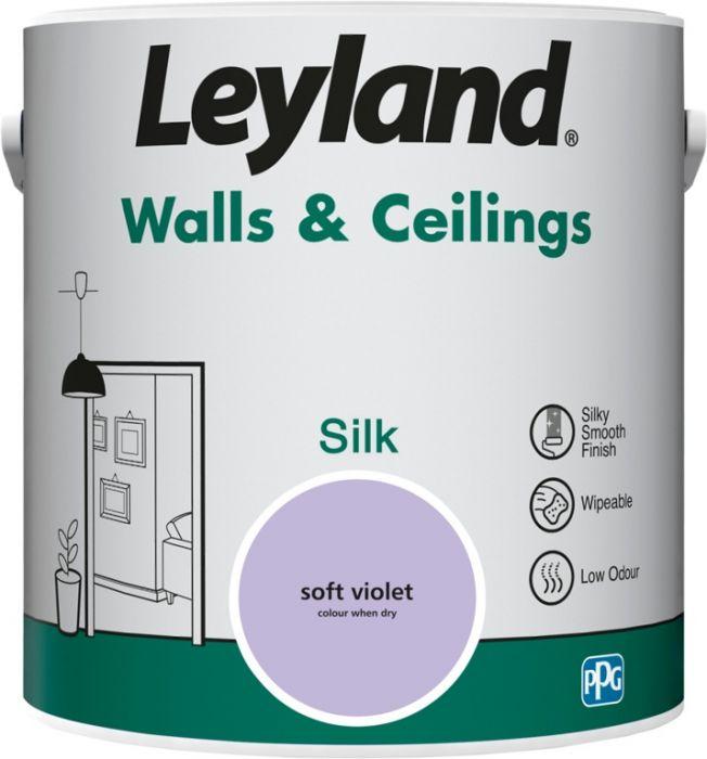 Leyland Walls & Ceilings Silk 2.5L