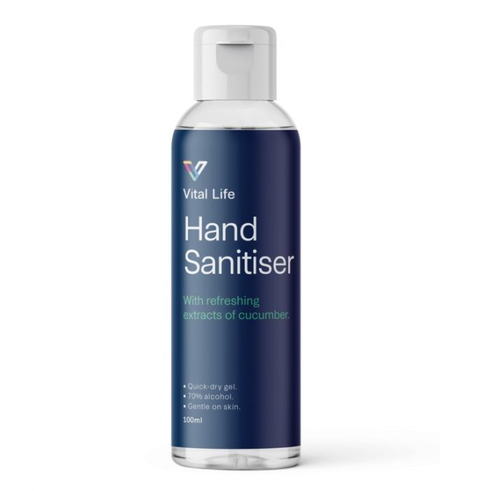 Vital Life HAND SANITISER GEL 100ml