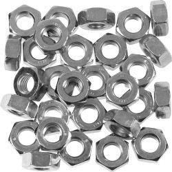 SupaFix Steel Hex Nut Zinc Plated M12