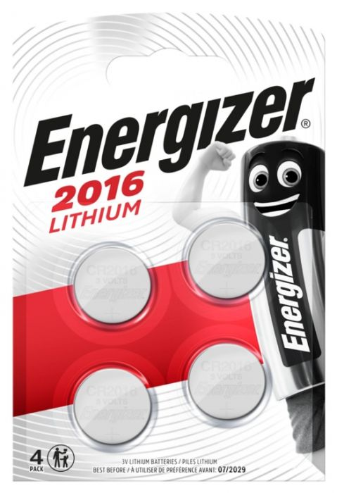 Energizer Lithium CR2016 Batteries