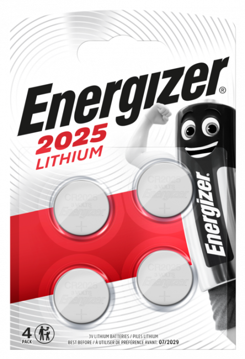 Energizer Lithium CR2025 Batteries