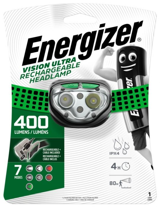 Energizer LED Vision Ultra Rechargeable Headlamp