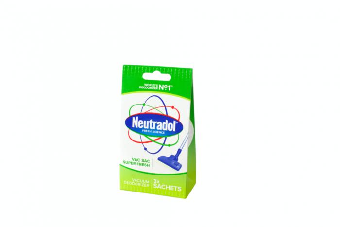 Neutradol Vacuum Deodoriser Pack 3