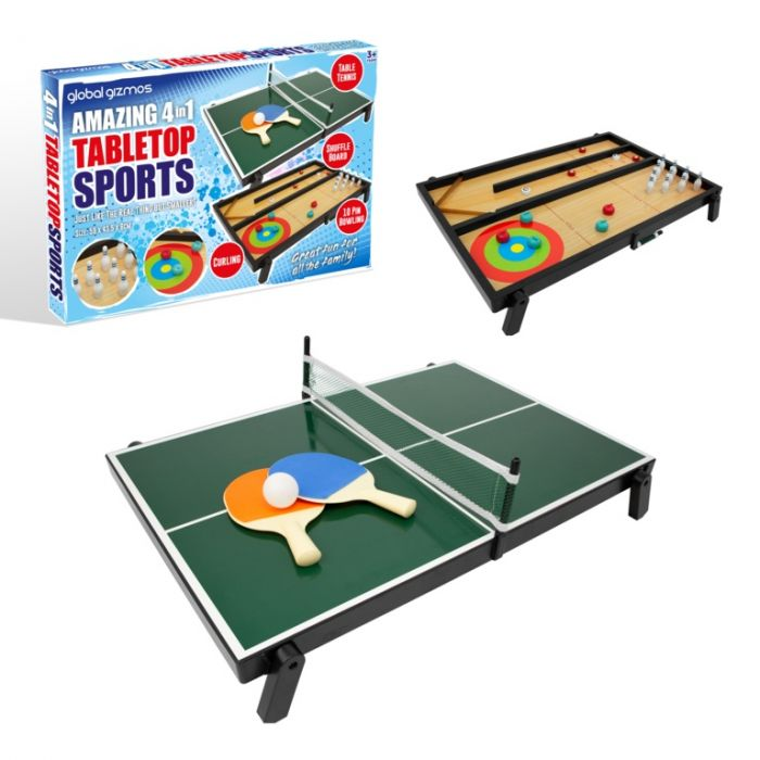 4 In 1 Tabletop Game
