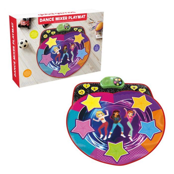 Global Gizmos Dance Mixer Playmat