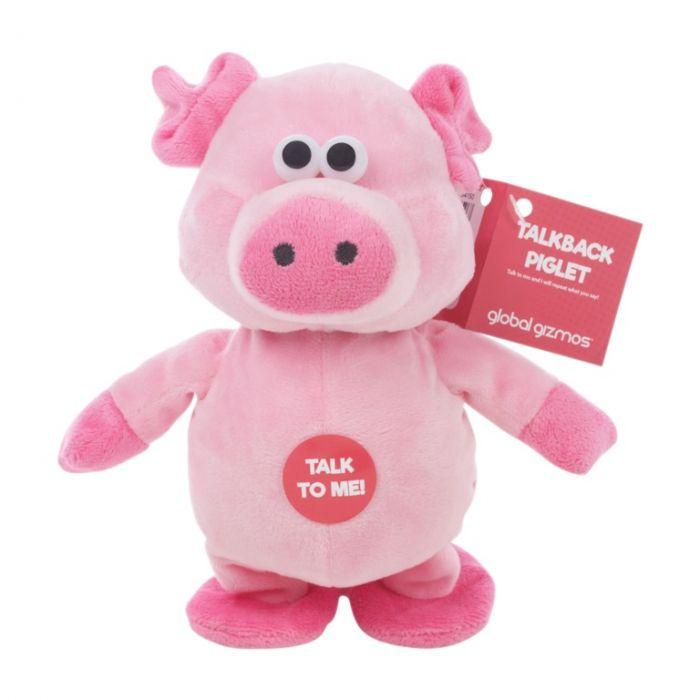 Global Gizmos Talk Back Walking Pig