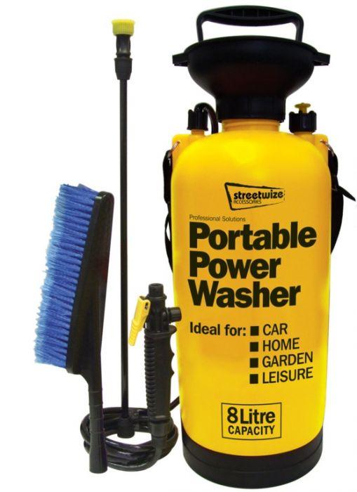 Streetwize Pressure Sprayer With Extra Brush