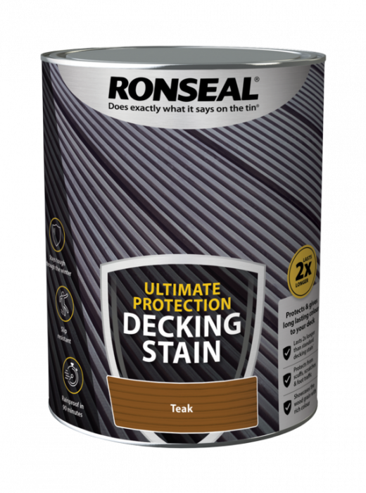 Ronseal Ultimate Protection Decking Stain 5L