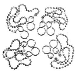 SupaFix Ball Sink Chain and S Hook Pack 5 12