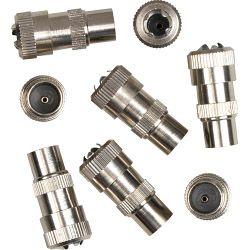 SupaLec Coaxial Male Plug Metal