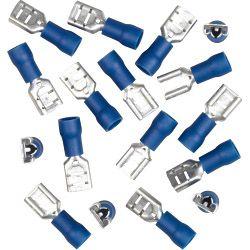 SupaLec Insulating Connectors - Female 15 Amp - Blue