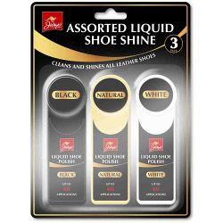 Jump Assorted Liquid Shoe Shine 3 Pack