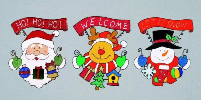 Santa/Snowman/Reindeer