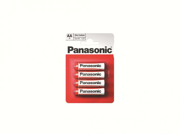 Panasonic AAA Batteries SPC R03A