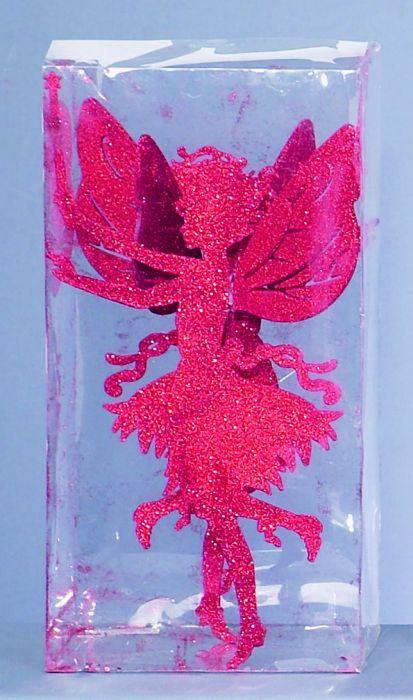Red Glitter Fairy
