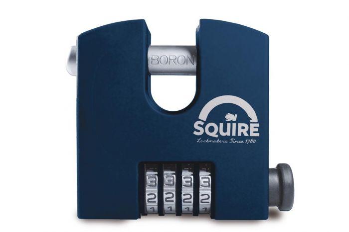 Squire Re-codeable Hi-Sec Combination Padlock 4-Wheel