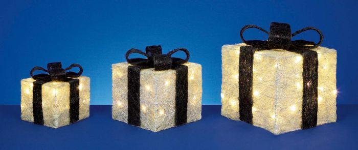 Glitter Parcels With 40 Leds