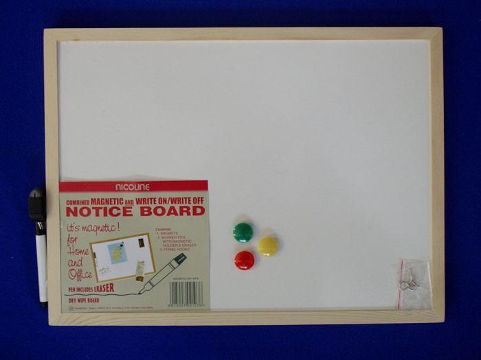 Nicoline Magnetic Dry Wipe Boards 30cm x 40cm