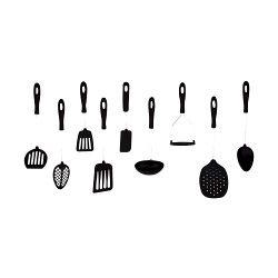 Probus Litchfield Nylon Solid Spoon Black