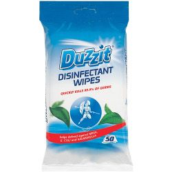 Duzzit Disinfectant Wipes 50 Pack