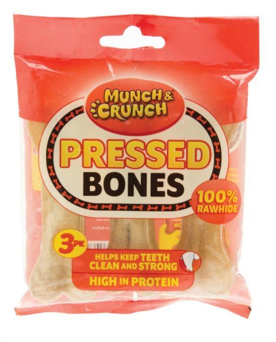 Munch & Crunch Pressed Bones 3 Pack