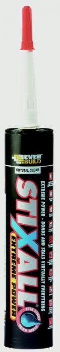 Everbuild StixAll 300ml Crystal Clear