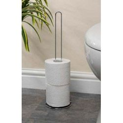 SupaHome Toilet Roll Holder Chrome Plated