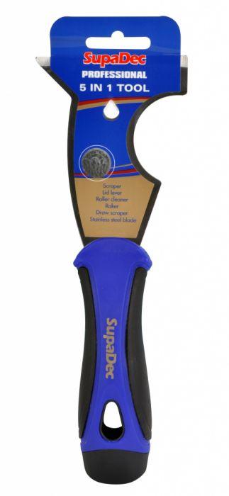 SupaDec Professional Soft Grip 5 in 1 Tool