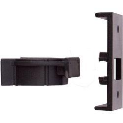 Select Plinth Clip 2 Piece Black 10mm Pack 10