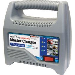 Streetwize Automatic Battery Charger - Plastic Cased 12V 7 Amp