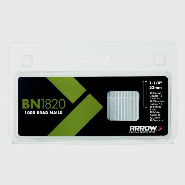 Arrow Steel Brads 32mm (1000pack)