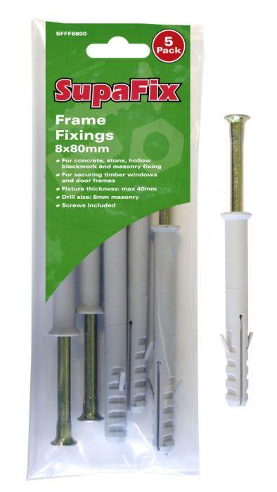 SupaFix Frame Fixings M8X80