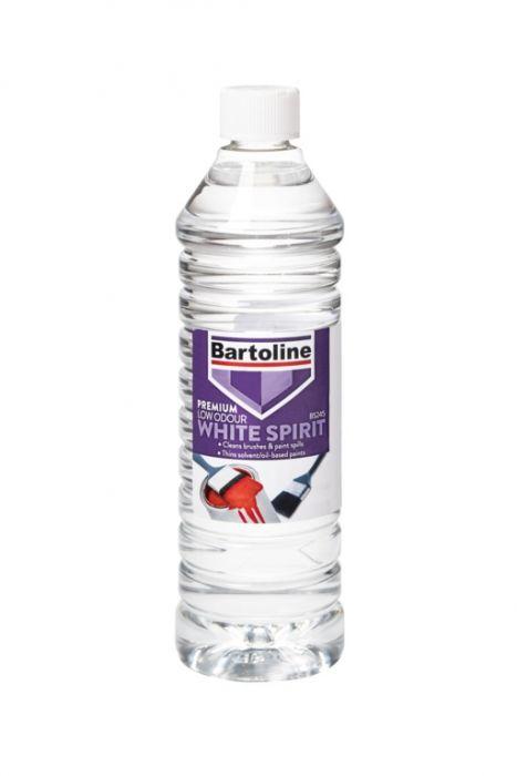Bartoline Premium Low Odour White Spirit 750ml