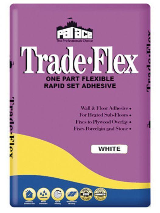 Palace Tradeflex White Tile Adhesive 20kg