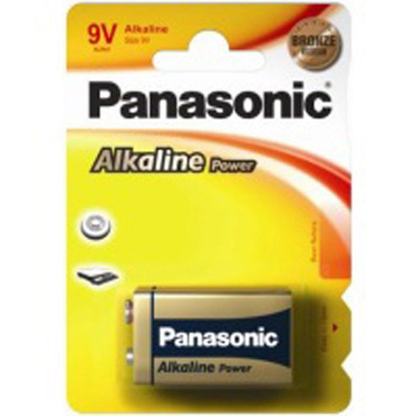 Panasonic Alkaline 9v Card of 1